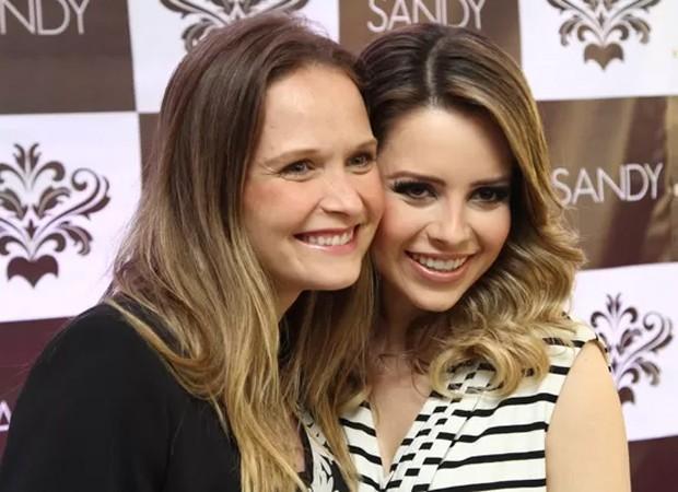Fernanda Rodrigues e Sandy (Foto: Reprodução/Instagram)