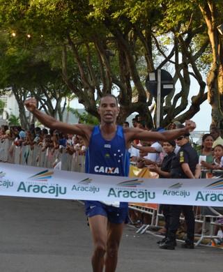 Corrida Cidade de Aracaju; Giomar Oliveira (Foto: Thiago Barbosa / GloboEsporte.com)