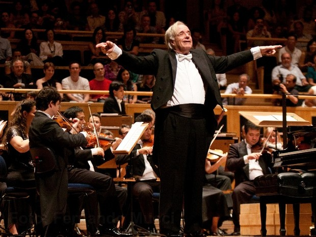 João Carlos Martins é maestro titular e diretor artístico da Bachiana Filarmônica SESI-SP (Foto: Fernando Mucci)