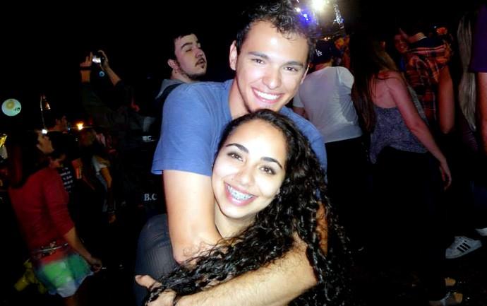 Fernando e Luana driblaram um problemão no dia do festival João Rock e se apaixonaram (Foto: Arquivo pessoal)