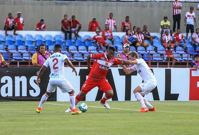 CRB x Náutico zé carlos (Foto: Ailton Cruz/Gazeta de Alagoas)