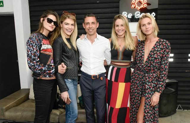 Alexandra Benenti, Ana Paula Scopel, Marcos Motta, Babi Beluco e Renata Kuerten  (Foto: Cleiby Trevisan)