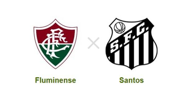 Fluminense e Santos se enfrentam no Espírito Santo (Foto: Reprodução)