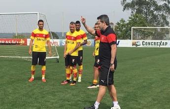 Com trabalho tático, Vitória finaliza preparação; Cárdenas é vetado