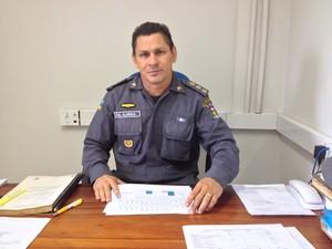 Coronel José Maria de Almeida, corregedor adjunto da Polícia Militar (Foto: John Pacheco/G1)