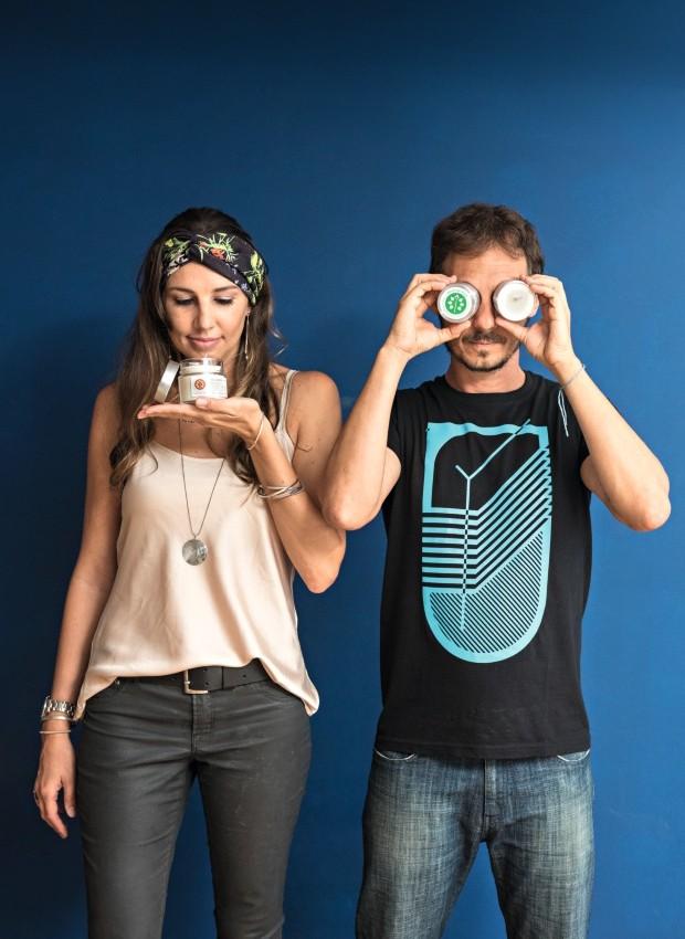 Priscilla von Haehling e Fernando Ramondini, da Pavio de Vela (Foto: Alexandre Disaro / Editora Globo)