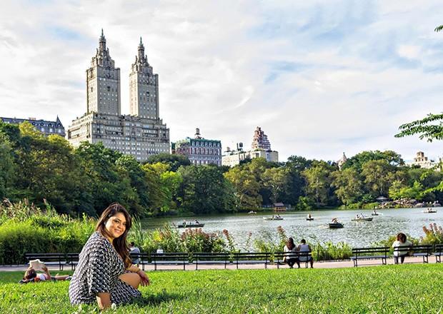 . (Foto: Preta elege o parque como um de seus locais favoritos em Nova York)