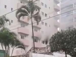 Homem coloca fogo em apartamento após descobrir traição (Foto: Divulgação/Polícia Civil)