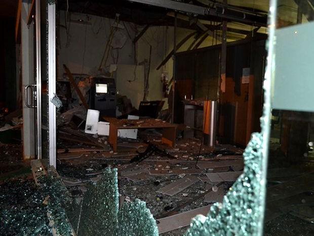 Único terminal que não explodiu dentro da cooperativa (Foto: Michel Ferreira/siteUbiratã24horas)