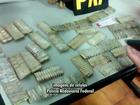 Polícia encontra 800 balas de fuzil e pistola com mulher, na BR-376