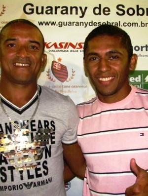 Júnior Alves, Panda, Guarany de Sobral, reforços, Junco, Série C (Foto: Divulgação/Guarany de Sobral)