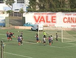 gol Eraldo Uberaba Sport jogo-treino sub-20 Araxá preparação (Foto: Reprodução/ TV Integração)