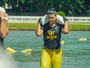 Juliane Almeida participa de corrida com obstáculos