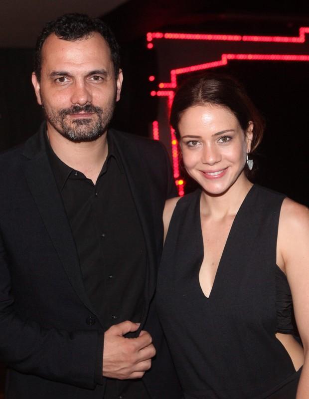 Leandra Leal e o marido, Alê Youssef (Foto: Eny Miranda/ciadafoto)