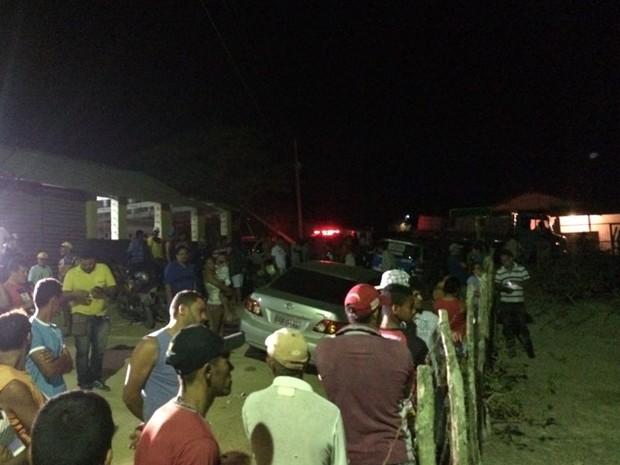 Crime aconteceu na zona rural de Caruaru (Foto: Franklin Portugal/TV Asa Branca)