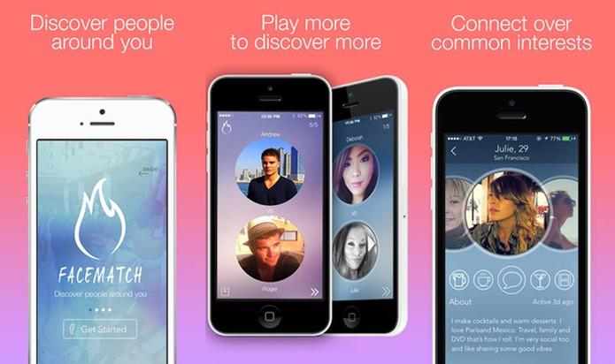 FaceMatch cria 'batalhas' ente usuários para descobrir quem é mais atraente (Foto: Reprodução/FaceMatch)