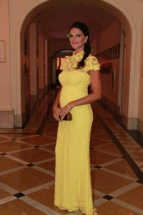 Daniella Sarahyba em premiação (Foto: Isac Luz/EGO)