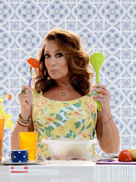 Susana Vieira em cena do espetáculo Uma Shirley qualquer, que faz curtíssima temporada em solo carioca a partir do fim de semana (Foto: Daniel Chiacos)