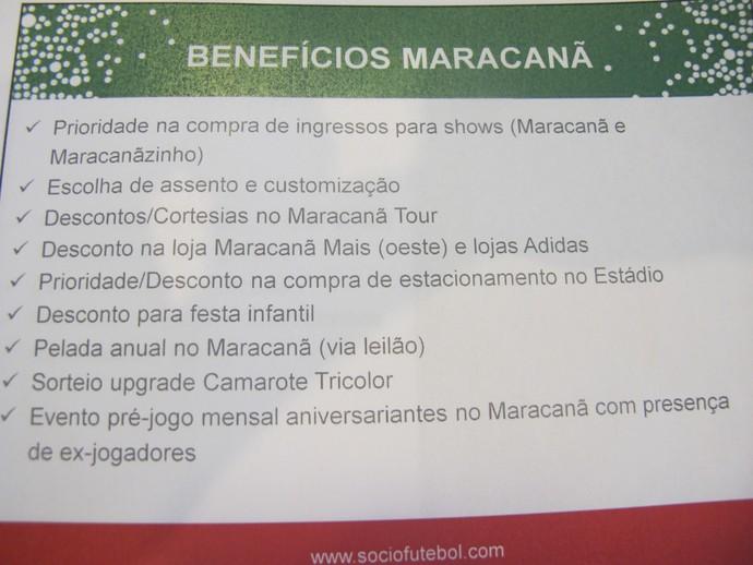 Benefícios Fluminense Maracanã (Foto: Fred Huber / GloboEsporte.com)