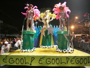 Unidos do Acaracuzinho (Foto: TV Verdes Mares/Reprodução)