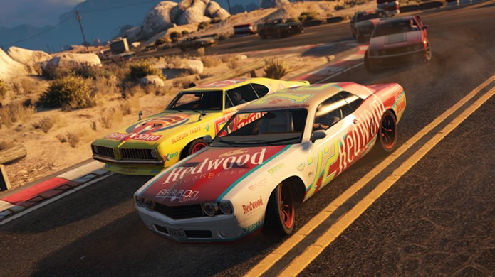 Novas corridas de Stock Car prometem agitar GTA 5 no PlayStation 4 e Xbox One (Foto: Divulgação)