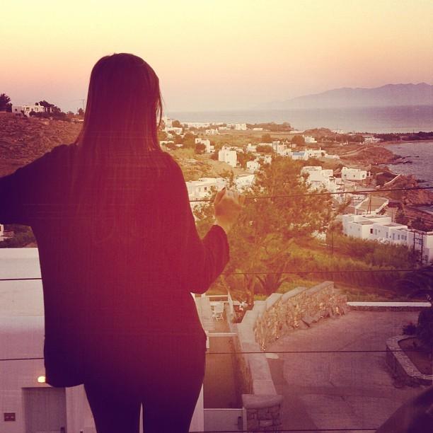 Sophia Abrao em Mikonos (Foto: Reprodução/Instagram)