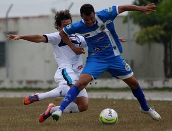 Volante Eder, São Bento x São José, Copa Paulista 2014 (Foto: Jesus Vicente/ EC São Bento)