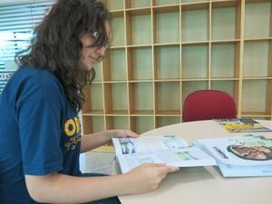Jovem teve que estudar muito mais para a competição (Foto: Mariane Rossi/G1)
