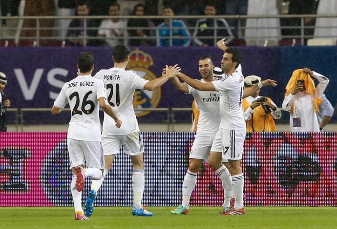 Jesé comemora, Real Madrid x PSG (Foto: Reuters)