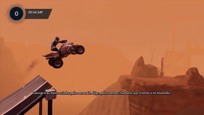 Os ATVs são rápidos e divertidos (Foto: Reprodução/Murilo Molina)