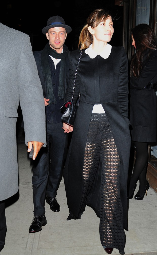 Justin Timberlake e Jessica Biel (Foto: Agência/ Getty Images)