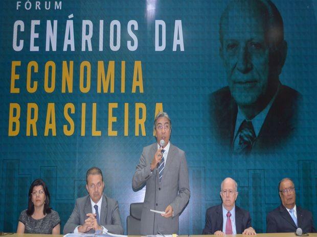 A abertura do Fórum foi feita pelo governador Marcelo Déda (Foto: Flávio Antunes/G1 SE)