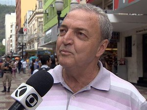 Presidente da CDL é morto dentro de estacionamento em Juiz de Fora (Foto: Reprodução/TV Integração)