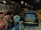 Ônibus com logo de banda gaúcha é apreendido com 740 kg de maconha