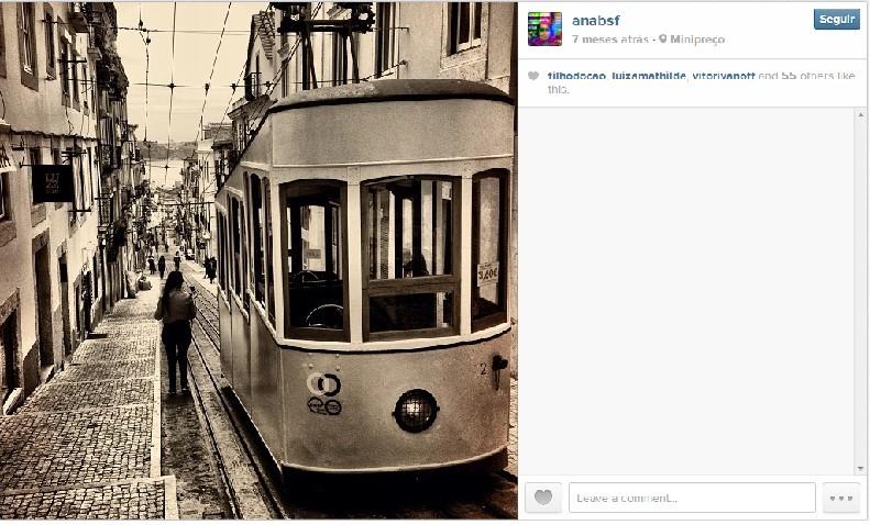 Direto do Instagram da autora do post (Foto: Reprodução)