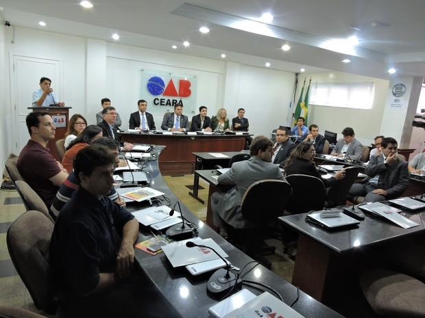 Audiência pública discutiu aplicação de R$ 47,6 milhões em seis municípios (Foto: Divulgação/OAB-CE)