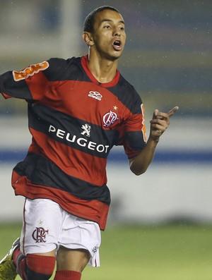 Rafinha gol Flamengo (Foto: André Mourão / Ag. Estado)