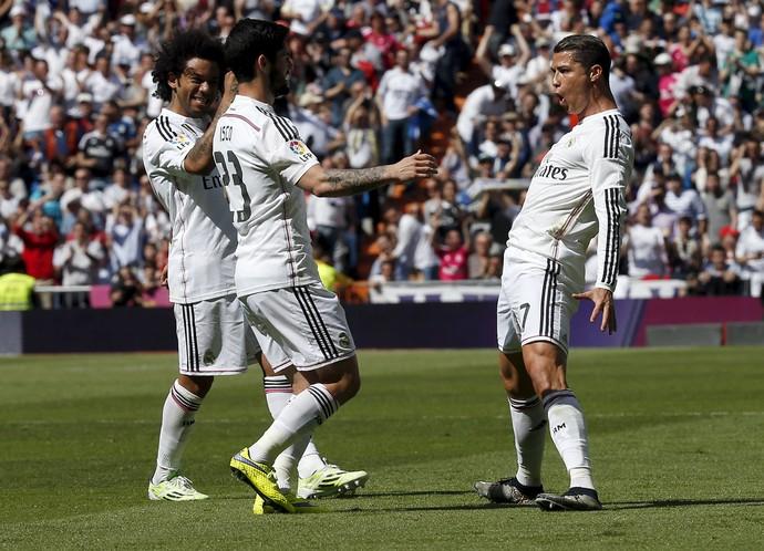 Cristiano Ronaldo Real Madrid Eibar (Foto: Reuters)