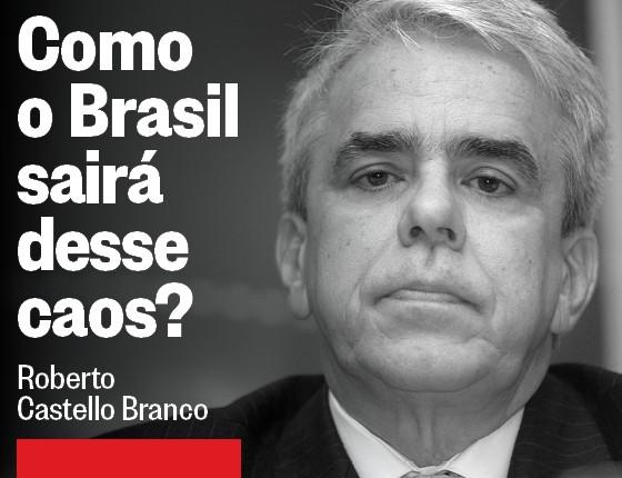 Roberto Castello Branco, diretor do centro de estudos em crescimento e desenvolvimento da FGV. Foi diretor do Banco Central do Brasil (1985) e da Vale (1999-2013) (Foto: Carlos Garrastazu/Valor/Agência O Globo)