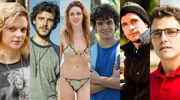 Jovens saem em busca de seu pai biológico, o doador 251, na novela das seis Sete Vidas, que estreia dia 9 (Foto: Globo)