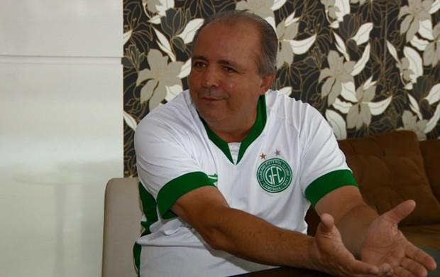 Oswaldo Alvarez técnico Guarani