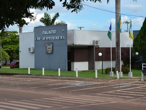 Câmara de vereadores de Rolim de Moura (Foto: Rogério Aderbal/ G1)