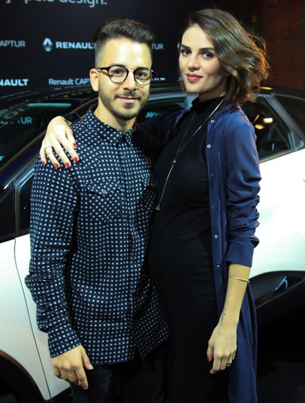 Júnior Lima e a mulher, Mônica Benini (Foto: Marcos Ribas/Brazil News)