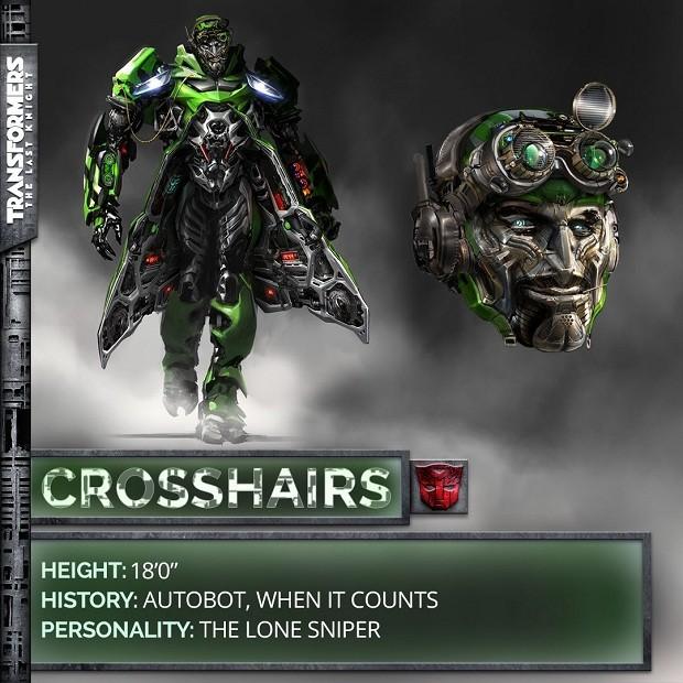 Autobot Crosshairs em Transformers: O Último Cavaleiro (Foto: Divulgação)