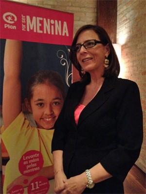 Anette Trompeter, gerente geral da Plan International no Brasil (Foto: Ana Carolina Moreno/G1)