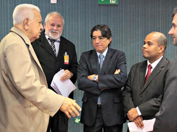 Evandro Carreira durante homenagem na CMM (Foto: Divulgação/Câmara Municipal)