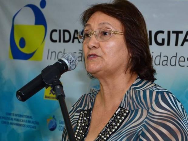 Rose Curvinel (PMN) é vice do candidato à Prefeitura de Goiânia do Delegado Waldir (PR) Goiás (Foto: Reprodução/Facebook)
