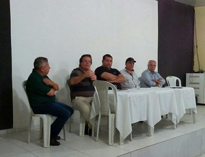 Reunião de dirigentes do ASA (Foto: Jânio Barbosa/Arquivo Pessoal)