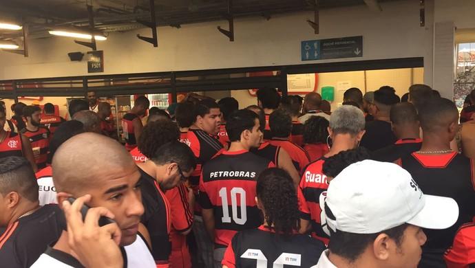 torcida, Flamengo, Maracanã (Foto: Thiago Lima)