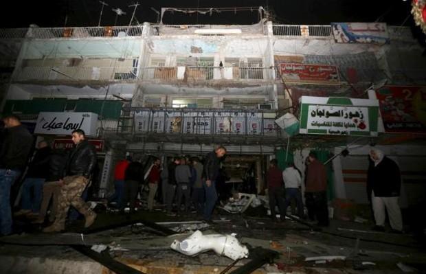Em janeiro, atentado em centro comercial de Al-Khatida deixou 12 mortos (Foto: Reuters)